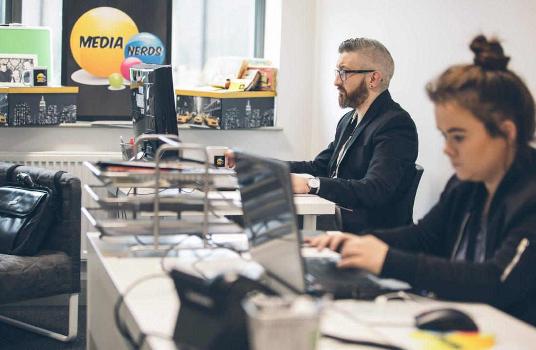 Media Nerds UK Innovation Factory Belfast
